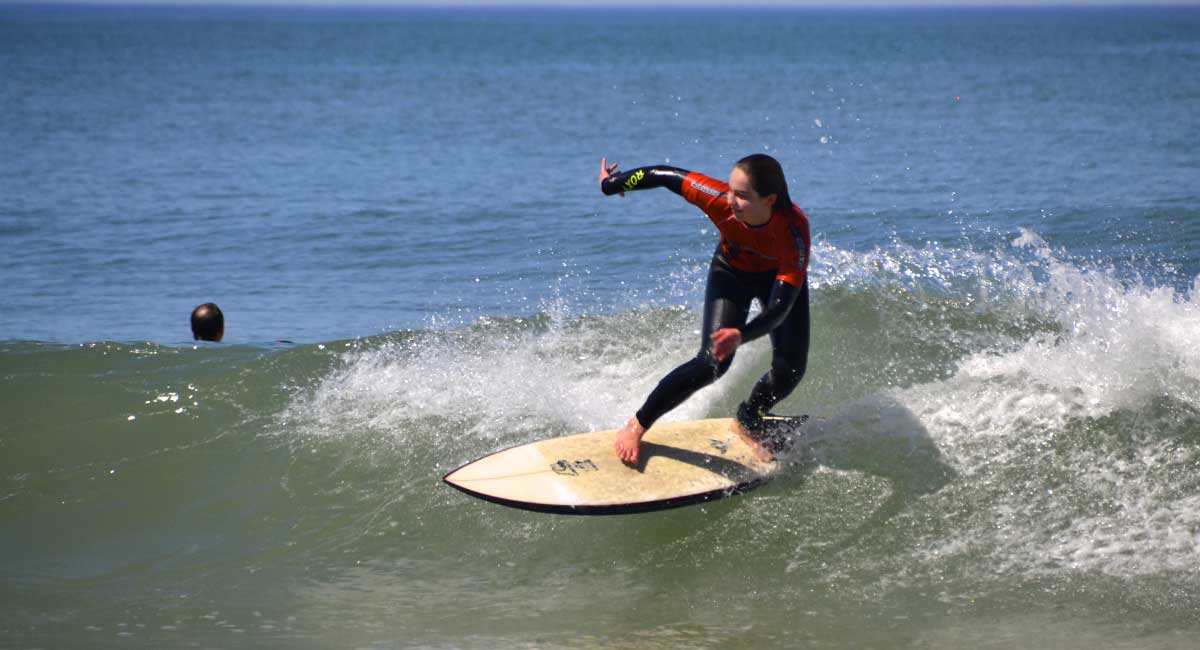 Stage de surf Enfant perfectionnement Biarritz