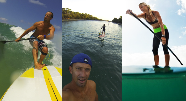 stand up paddle hossegor