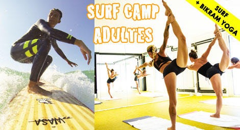 surf camp surf et yoga