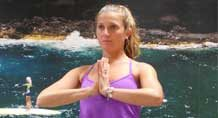 yoga et stand up yoga capbreton